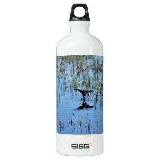 Black Bird Balancing Act Water Bottle