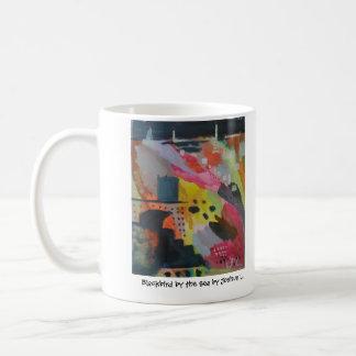 Black Bird by Sea by Joshua L. Classic White Coffee Mug