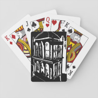 Black Bird Cage Playing Cards