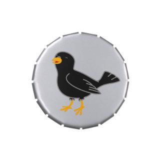 Black Bird Candy Tin