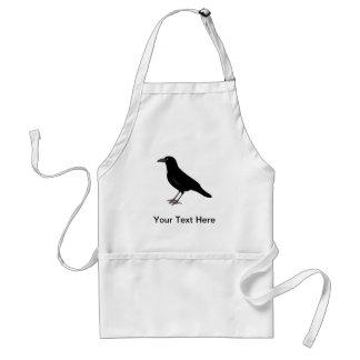 Black Bird Crow Adult Apron
