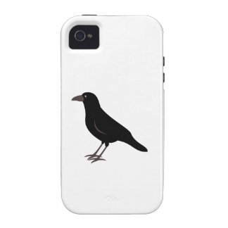 Black Bird Crow Case-Mate iPhone 4 Cover