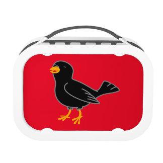 Black Bird Lunch Box