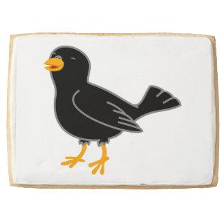 Black Bird Jumbo Cookie