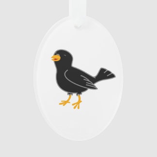 Black Bird Ornament