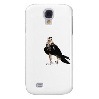 Black bird predator aggressive hawk samsung galaxy s4 case