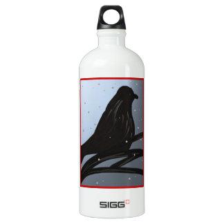 Black Bird Red SIGG Traveler 1.0L Water Bottle
