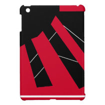 Black Bird Triad L iPad Mini Cases