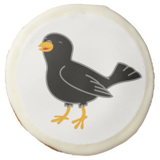 Black Bird Sugar Cookie