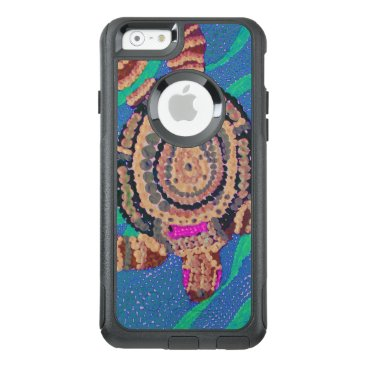 Ocean Themed Black Birds and Emeralds 2 OtterBox iPhone 6/6s Case