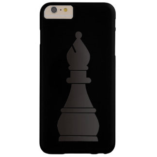 Black bishop chess piece barely there iPhone 6 plus case
