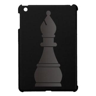 Black bishop chess piece iPad mini case