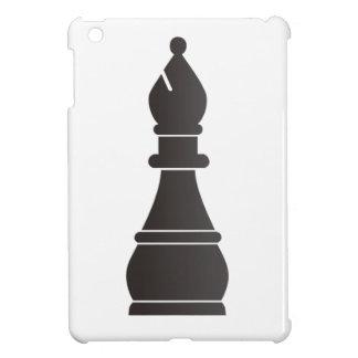 Black bishop chess piece iPad mini covers