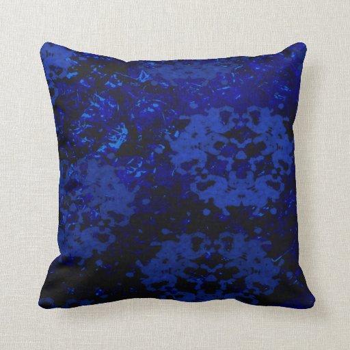 Black & Blue Beauty Pillow