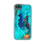 Black & Blue Buttefly iPhone 5/5S Cases