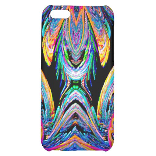 Black Blue Gold Abstract Speck Case Cover For iPhone 5C