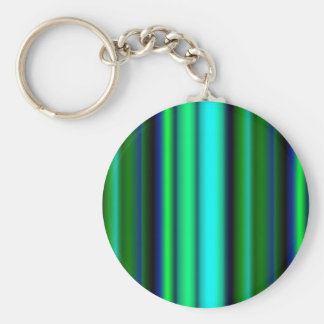 Black blue green touched Fantasy kind - kind Deco Keychain