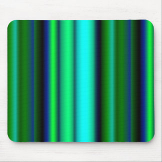Black blue green touched Fantasy kind - kind Deco Mouse Pad