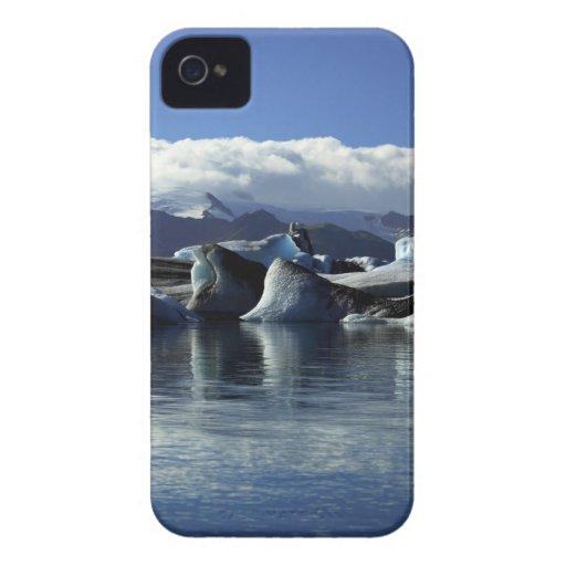 Black & Blue Icebergs, Iceland Blackberry Bold Cases