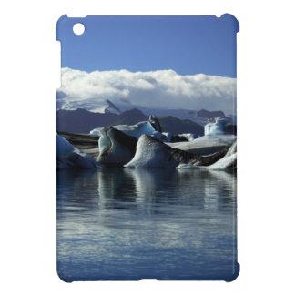 Black & Blue Icebergs, Iceland Case For The iPad Mini