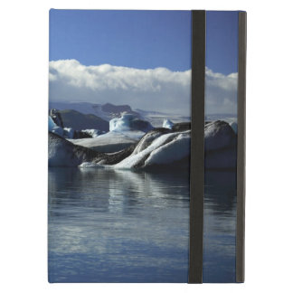 Black & Blue Icebergs, Iceland Cover For iPad Air