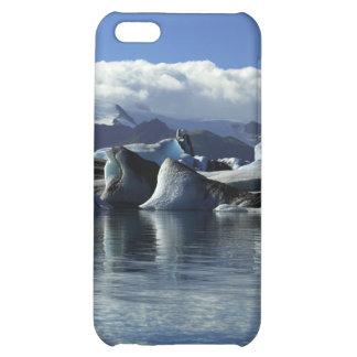 Black & Blue Icebergs, Iceland iPhone 5C Covers