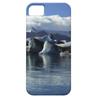 Black & Blue Icebergs, Iceland iPhone SE/5/5s Case