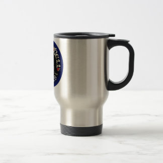 Black Blue Logo Mug