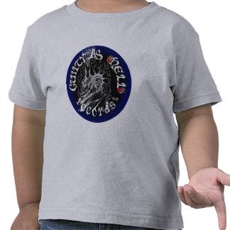Black Blue Logo Shirt