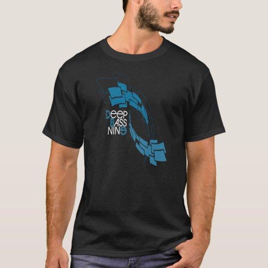 Black & Blue Minimal T-Shirt