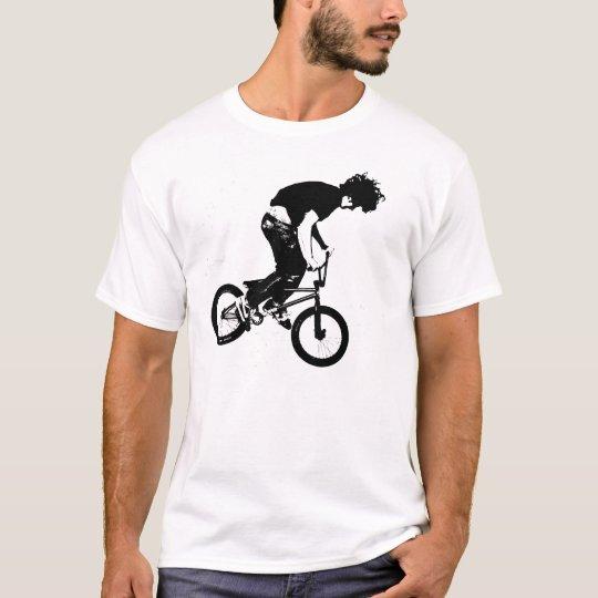 Black BMX Rider Graphic T Shirt/Hoodie T-Shirt