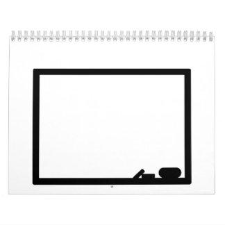 Black board calendar