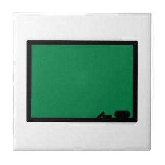 Black board small square tile