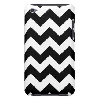 Black Bold Chevron Stripes Barely There iPod Covers