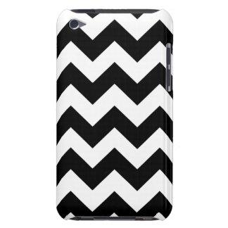 Black Bold Chevron Stripes iPod Touch Covers