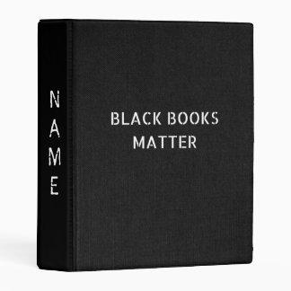 Black Books Matter Mini Binder
