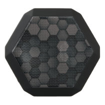 Black Boombot REX With Hexagon Pattern Black Bluetooth Speaker