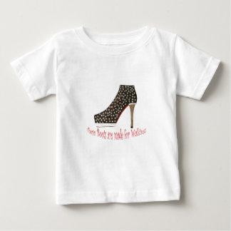 Black Boot Tee Shirt