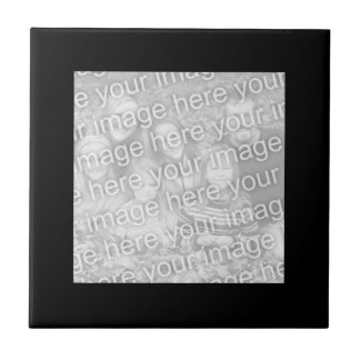 Black Border Photo Tile