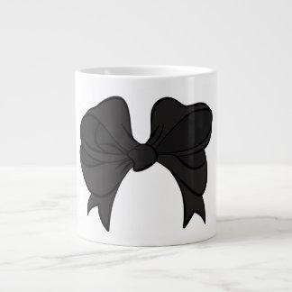 Black Bow Jumbo Mug