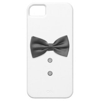 Black bow tie and buttons iPhone SE/5/5s case
