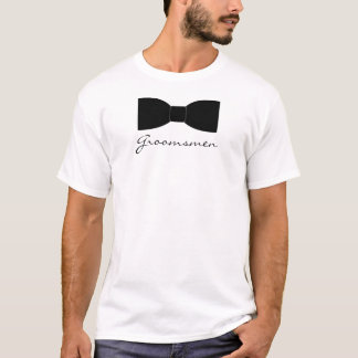 Black Bow Tie T-Shirt