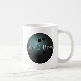 Black Bowling Ball Mug