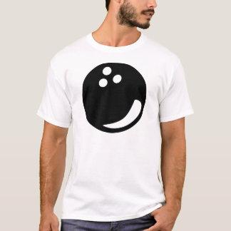 black bowling ball T-Shirt