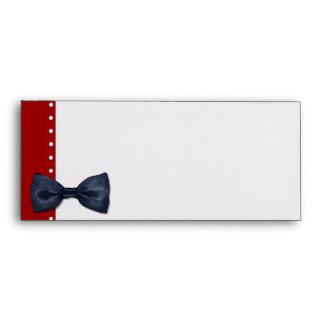 Black BowTie Letterhead Envelope