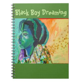 Black Boy Dreaming Notebook