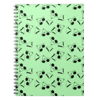 Black bras notebook
