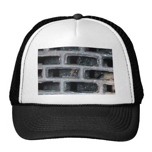 Black Bricks Mesh Hat