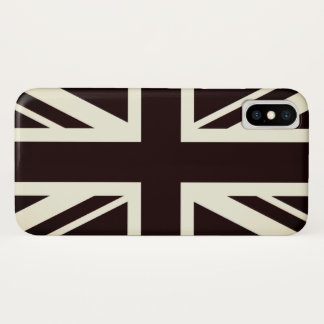 Black Britain flag cover