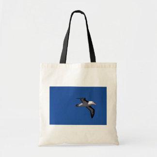 Black-Browed Albatross In Flight Tote Bag
